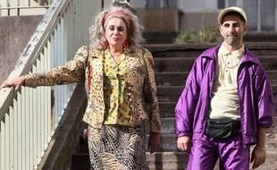 Catherine Deneuve et Kheiron, dans le film réalise par ce dernier «Mauvaises Herbes».