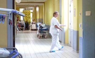 Lyon, le 6 juillet 2015. Illustration du service des urgences de l'hôpital Edouard Herriot à Lyon. E.Frisullo / 20 Minutes