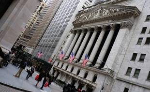 La Bourse de New York, le 20 janvier 2015