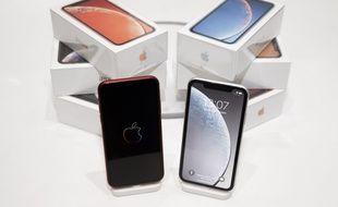 Des iPhone Xr (illustration).