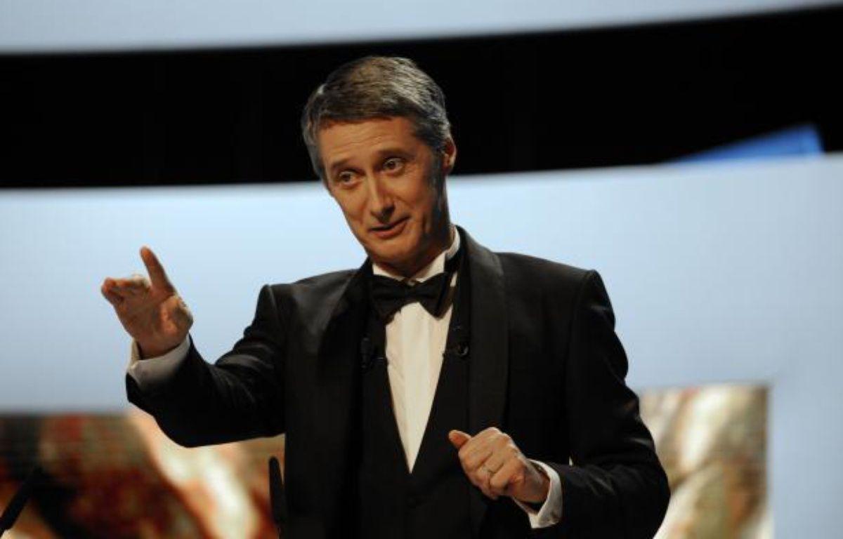 Antoine de Caunes lors de la 37e Cérémonie des Césars en 2012. – ERIC FEFERBERG/AFP