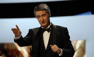 Antoine de Caunes lors de la 37e Cérémonie des Césars en 2012.