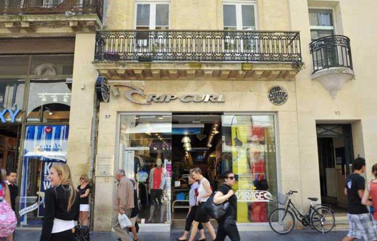 La boutique Rip Curl de Bordeaux va être vendue – J-P/VINCENT/20MINUTES