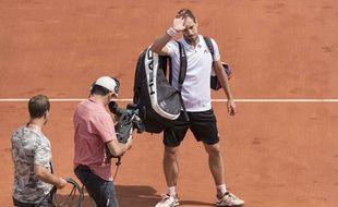 Richard Gasquet, le 4 juin 2017 à Roland-Garros.
