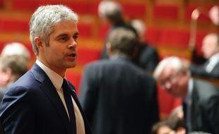 Laurent Wauquiez, le  15 Décembre 2015. AFP : ERIC FEFERBERG