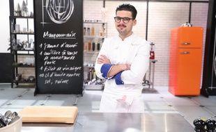 Camille, finaliste de «Top Chef», sur M6.