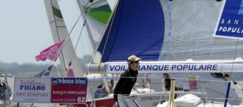 Armel Le Cléac'h (Banque Populaire) a remporté lundi après-midi à Gijon (nord de l'Espagne) la 2e étape de la Solitaire du Figaro, devant Morgan Lagravière (Vendée) et Anthony Marchand (Bretagne Crédit Mutuel Performance).