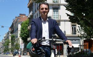 Eric Piolle, ici le 30 juin à Grenoble, où le candidat écologiste a été réélu maire avec plus de 53% des suffrages au second tour.