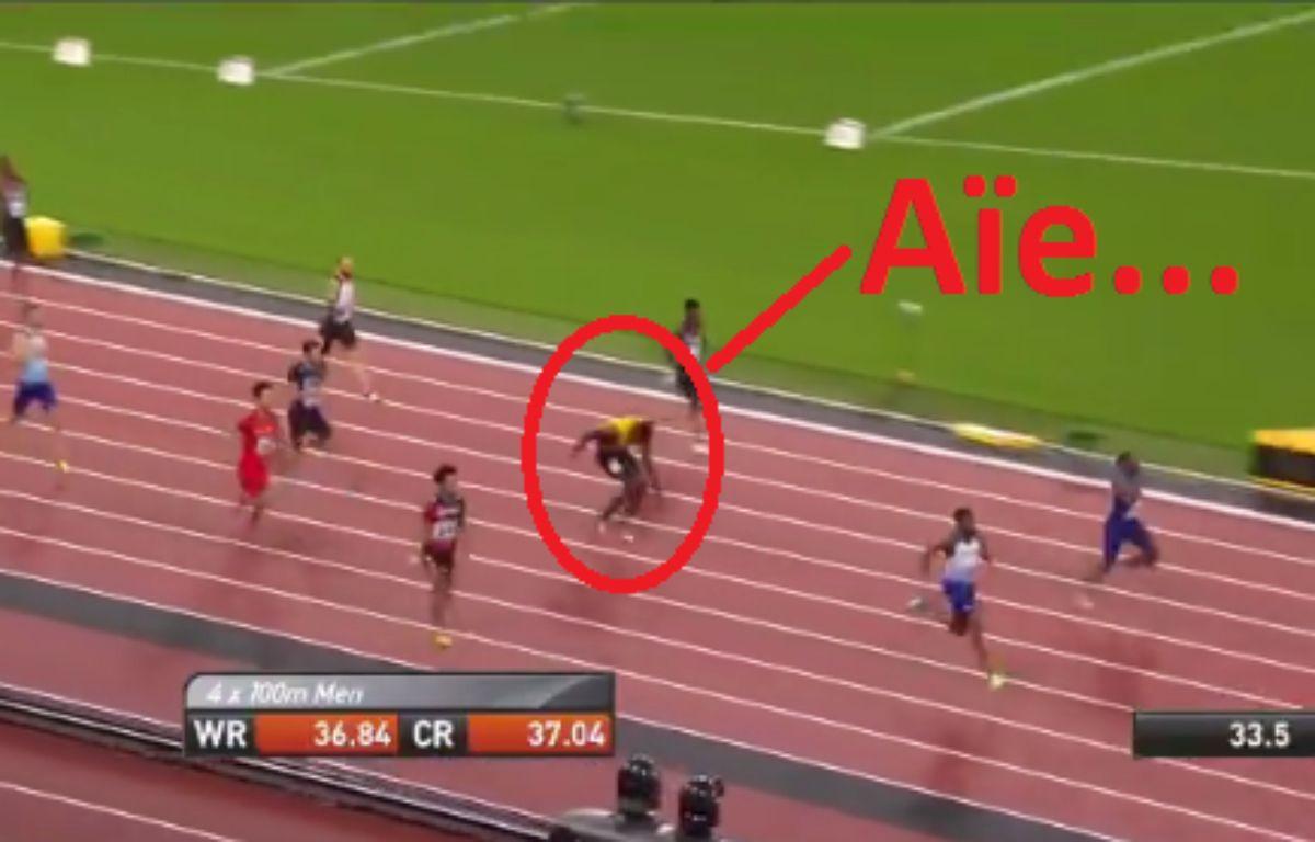 Capture d'écran de la blessure de Bolt – Capture d'écran