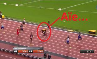 Capture d'écran de la blessure de Bolt