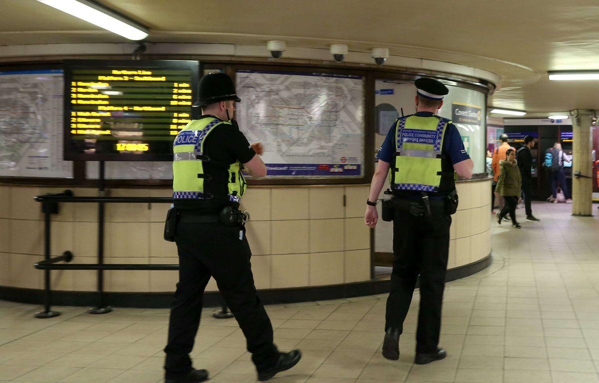 Le niveau d'alerte terroriste a été relevé à «critique» au Royaume-Uni le 15 septembre 2017 après un attentat dans le métro de Londres qui a fait 29 blessés. – D. Haria/Shutters/SIPA