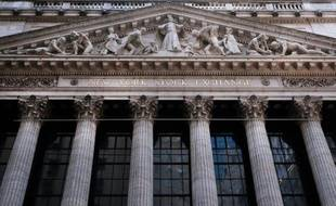 La Bourse de New York à Wall Street le 21 mars 2016