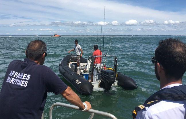 Sur l'estuaire de la Gironde, les autorités ont contrôlé plaisanciers et pêcheurs.