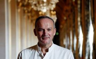 Le chef français Christian Le Squer à Paris, le 14 janvier 2016