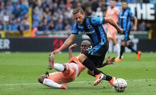 Un match du championnat belge entre Bruges et Anderlecht