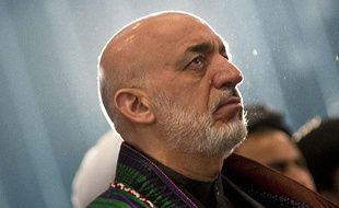 Hamid Karzaï, président de l'Afghanistan, mars 2013