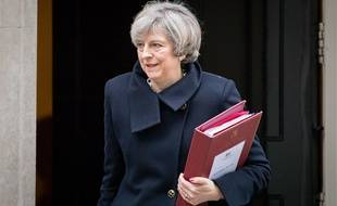 Prime Minister Theresa May leaves 10 Downing Street on her way to Parliament, London, UK - 08 Feb 2017