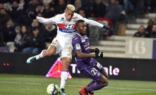 Mariano Diaz, ici lors de son dernier match avec l'OL, lors du succès (1-2) en Ligue 1 à Toulouse le 20 décembre. REMY GABALDA