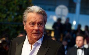 Alain Delon, le 25 mai 2013 à Cannes.