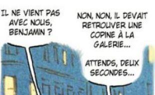 Le tour d'Europe des personnages de la BD démarre à Lyon.