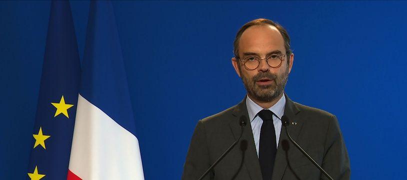 Edouard Philippe, le 4 décembre 2018 à Paris.
