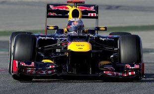 L'Allemand Sebastian Vettel (Red Bull-Renault) a signé le meilleur temps de la 1re journée d'essais de la 2e semaine de préparation à la saison 2012 de Formule 1, mardi sur le circuit de Catalogne à Montmelo, près de Barcelone.