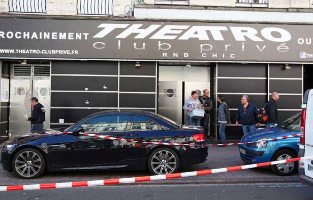 La façade de la discothèque «Theatro», à Lille, le 1er juillet 2012. – Mikael Libert / 20 MINUTES