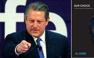 Al Gore et son livre Notre Choix, sorti le 3 novembre 2009 aux Etats-Unis