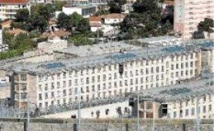 La prison des Baumettes à Marseille, le 25avril.