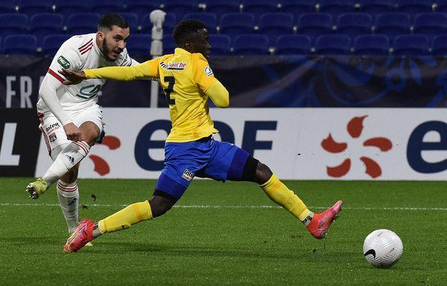 La Coupe de France a permis à Rayan Cherki de se distinguer, comme ici en mars avec un doublé contre Sochaux (5-2).