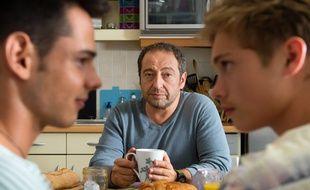 L'acteur Patrick Timsit dans le téléfilm «Baisers cachés» sur France 2