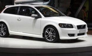 La C30 de Volvo, ici en présentation à Détroit en janvier 2008, est le modèle pour le futur prototype Volvo