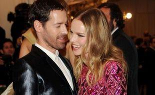 Kate Bosworth et Michael Polish, à New York, le 6 mai 2013.