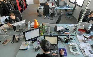 La Plage digitale, à Strasbourg, est un espace de télétravail et de coworking.