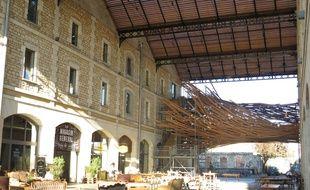 La partie caserne dont Darwin est propriétaire n'est pas impactée par le projet de ZAC Bastide-Niel.