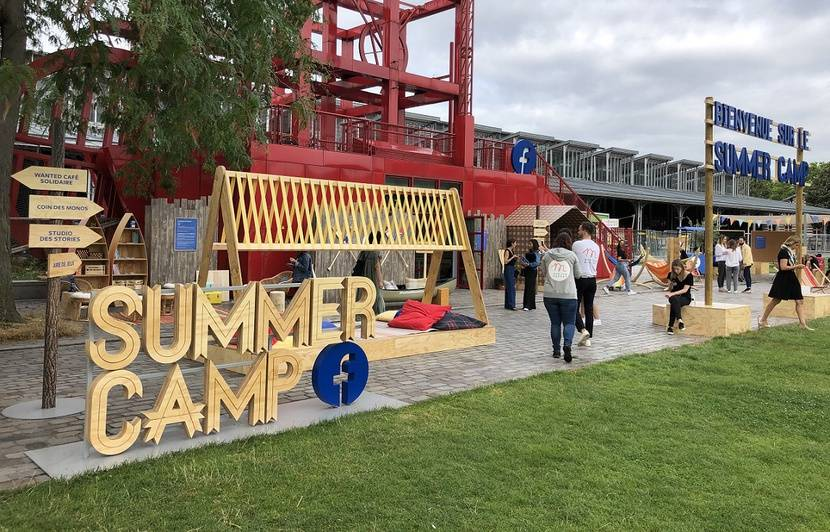 VIDEO. Paris: C'est quoi le Facebook Summer Camp de La Villette?