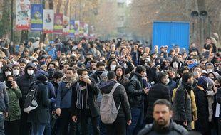 Manifestation étudiante en Iran cette semaine