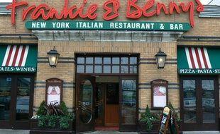 Un restaurant Frankie & Benny's à Swindon, au Royaume-Uni.