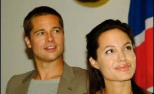 L'actrice américaine Angelina Jolie et son compagnon Brad Pitt, dont la fille est née le 27 mai en Namibie, ont rendu hommage mercredi à ce pays où ils entendent financer des projets humanitaires.