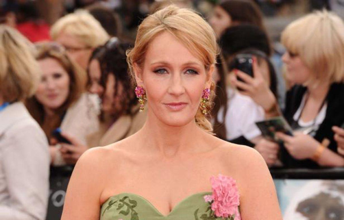 J.K. Rowling, auteure des livres «Harry Potter», insultée sur Twitter. – David Fisher / Rex Feat/REX/SIPA