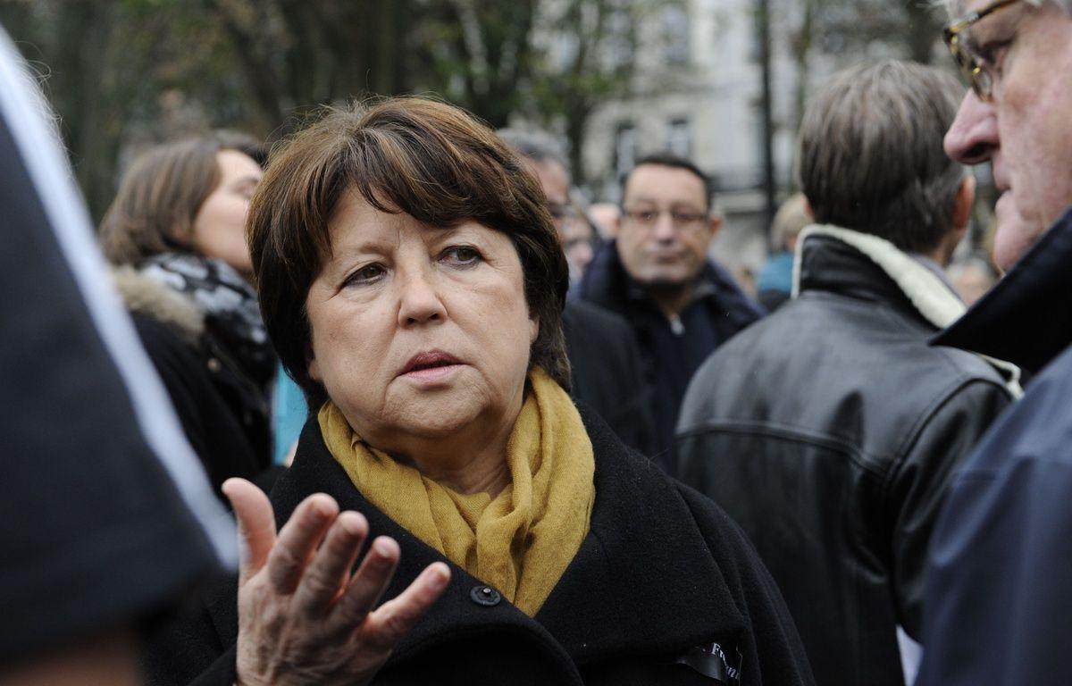 Martine Aubry, maire PS de Lille et ex-ministre, le 16 novembre 2015 à Lille. – Sarah ALCALAY/SIPA