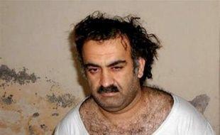 Khaled Cheikh Mohammed lors de son arrestation en 2003.