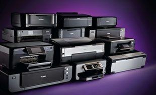 Des imprimantes de plusieurs fabricants (illustration).