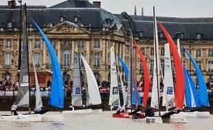 Une vingtaine de catamarans vont s'affronter sur la Garonne, samedi et dimanche.