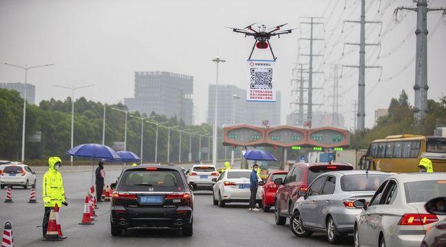 Des drones de télépéage contre le coronavirus en Chine ? Pas vraiment