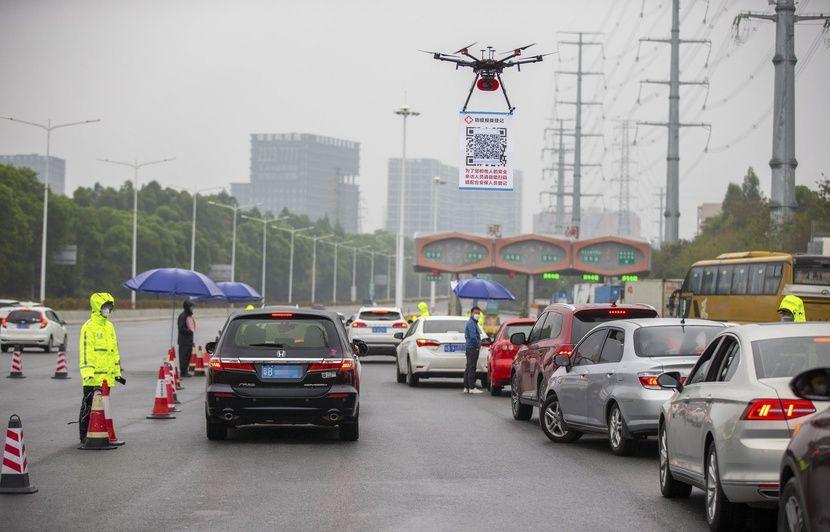 Coronavirus : Des drones de télépéage sont-ils utilisés en Chine ...