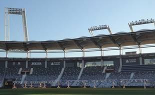 Le Stadium de Toulouse. Illustration.