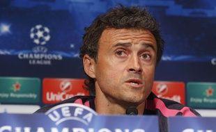 L'entraîneur du FC Barcelone Luis Enrique le 29 septembre 2014.