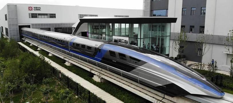 La Chine a dévoilé le Maglev le 20 juillet 2021.