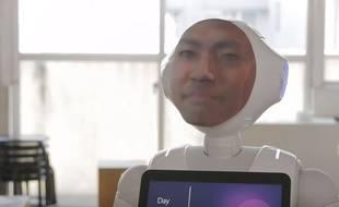 Le projet Digital Shaman propose d'imprimer le visage d'un proche disparu sur un robot.